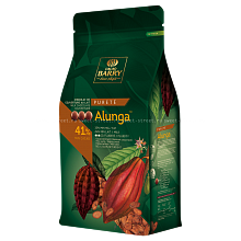 Шоколадные диски Cacao Barry молочный шоколад Alunga (41%), 100 г